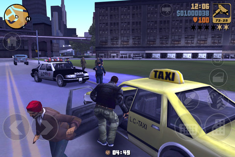 GTA 3 Для IOS, IPhone, IPad, Android